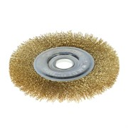 Щетка-крацовка для УШМ, дисковая, 150 мм, посадочный диаметр 22,2 мм (Hobbi) (шт.)