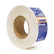 Лента клейкая углоформирующая для гипсокартона, бумажная основа, 50 мм х 50 м   (шт.)