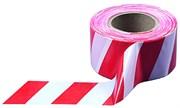 Лента сигнальная, бело-красная, 75 мм х 200 м (шт.)